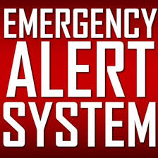 Emergency Alert System graphic
