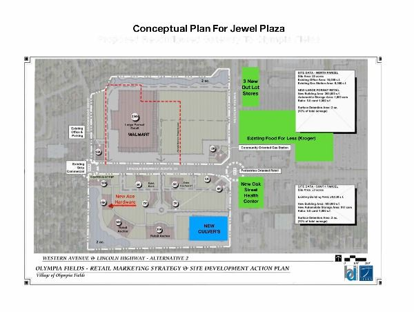 Conceptual Plan for Jewel Plaza