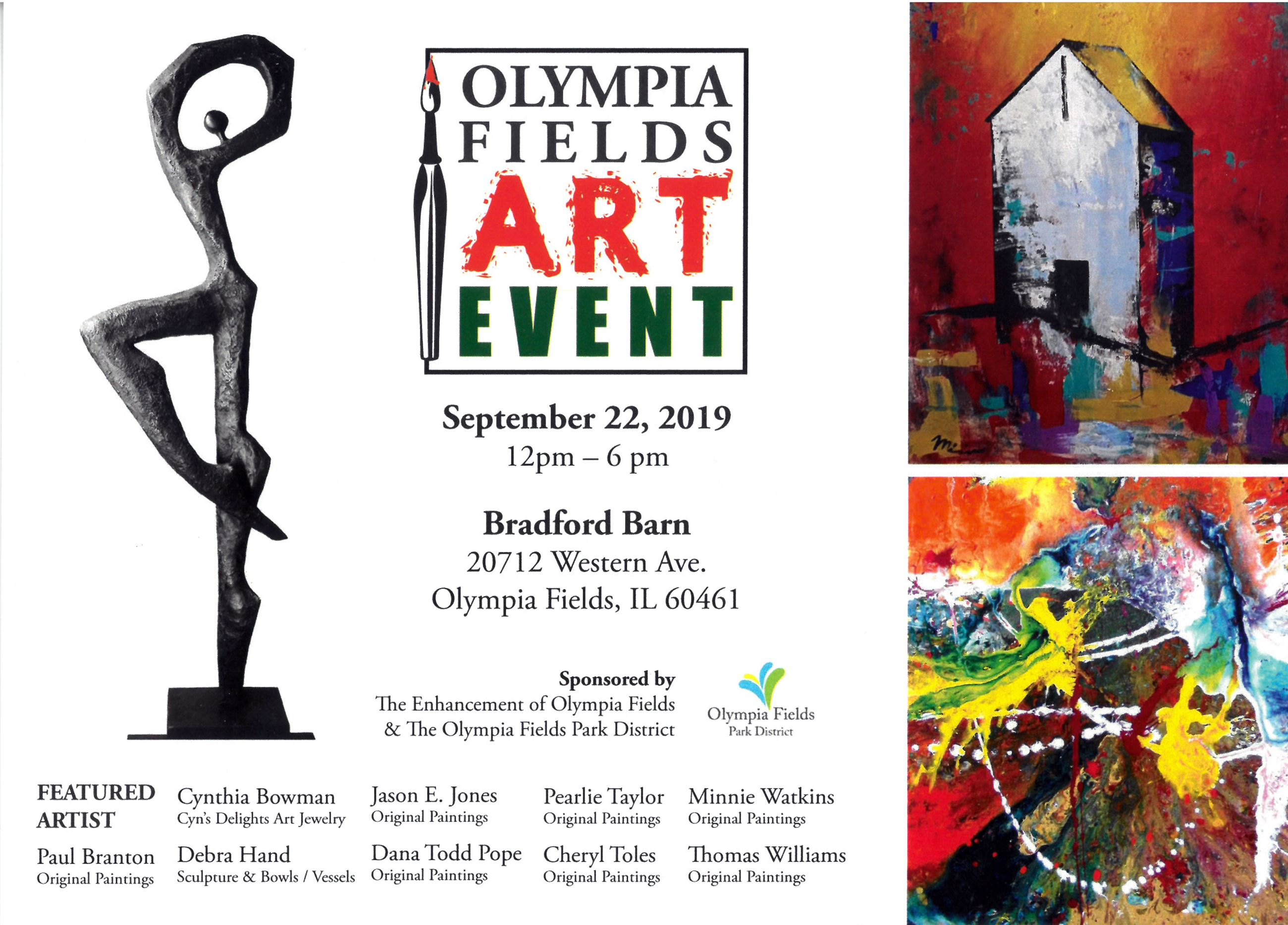 Olympia Fields Art Event